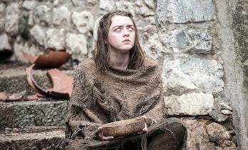 Arya Stark Begging