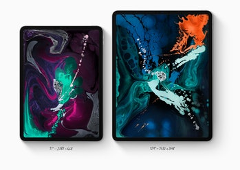 apple ipad pro sizes 2018