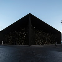 Winter Olympics Pavilion Paint,Vantablack VBx2, Is as Dark as Space