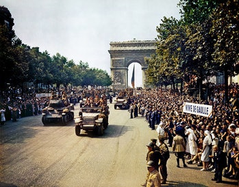 world war II, french