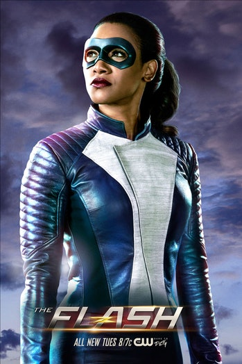 Iris West suits up on 'The Flash'