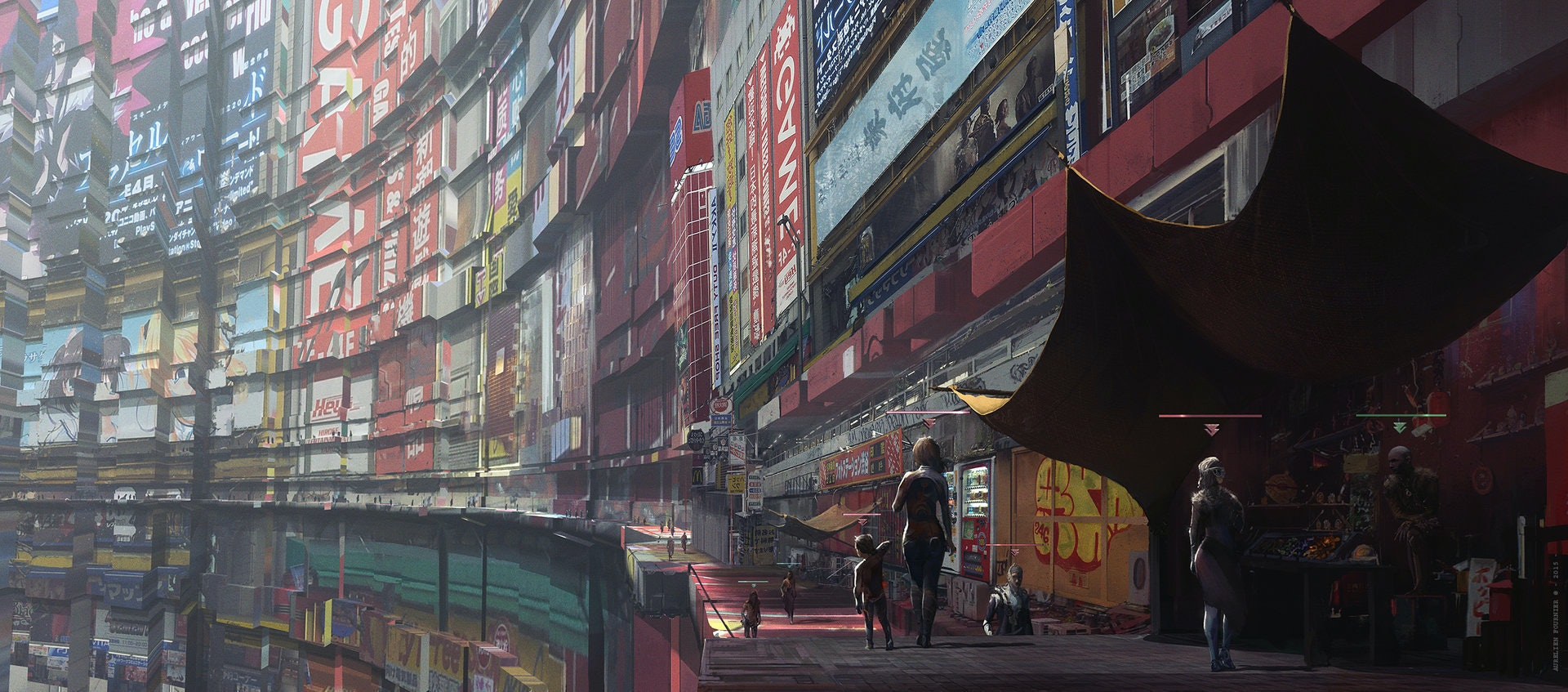 Concept Artist Aurelien Fournier S Sci Fi Cityscapes Marry Magic And Technology