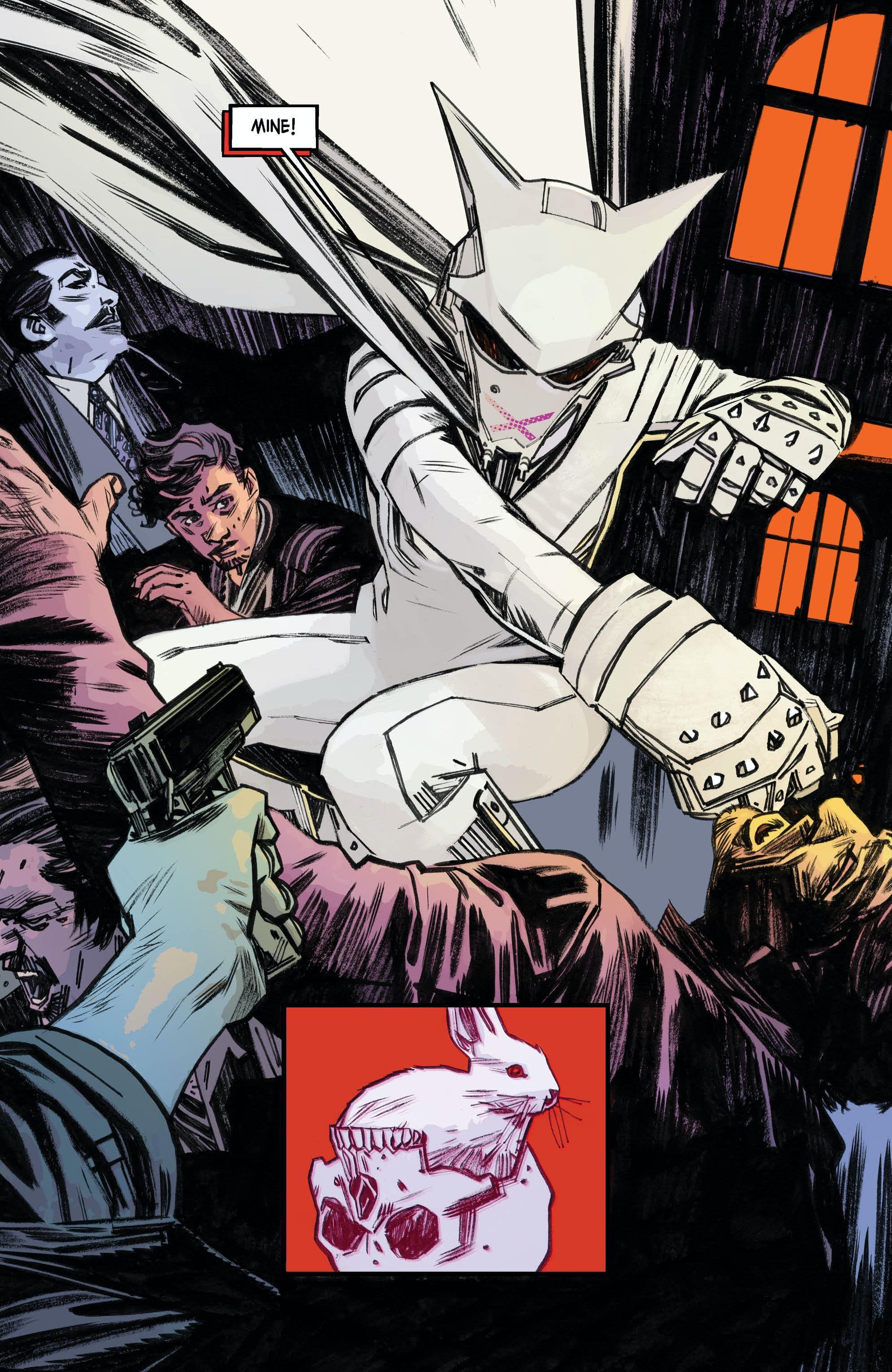 Mother Panic Panel DC Comics Young Animal