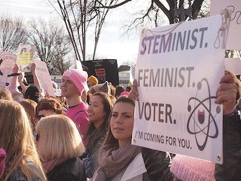 women's march, science