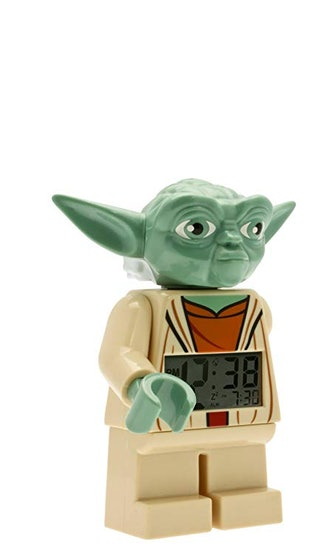 "Yoda LEGO Alarm Clock 9.5"""