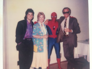 Stan Lee Donny Osmond Marvel