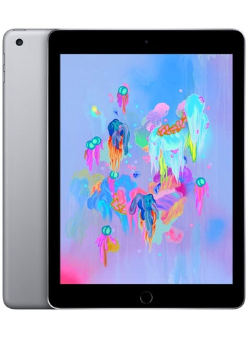 Apple iPad (Wi-Fi, 128GB) - Space Gray (Latest Model), iOS, Tablet