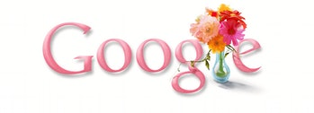 Mother's Day Google Doodle 2009