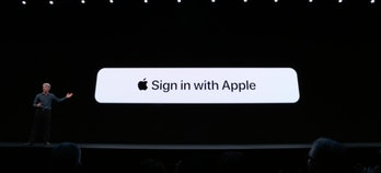 """Sign in with Apple is the fast, easy way to track in without all the tracking,"" said Federighi on Monday."