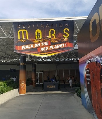 This is the entrance to Mars.