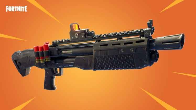 This Tactical Shotgun in 'Fortnite: Battle Royale' is Epic.