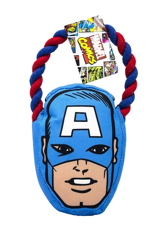 Captain America Rope Pull Toy For Dogs