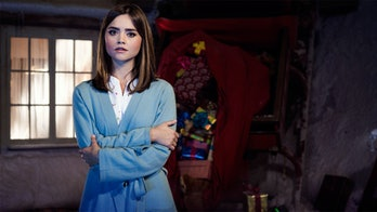 """Jenna Coleman as Clara Oswald in 2014's """"The Last Christmas."""""""