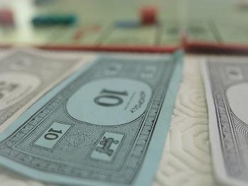 Monopoly money cash ten 10 money cash ten 10
