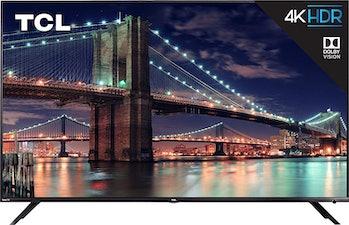 TCL 55R617 55-Inch 4K Ultra HD Roku Smart LED TV (2018 Model)