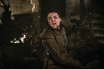 game of thrones arya battle of winterfell