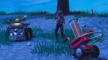 'Fortnite' Clay Pigeon Shooter and Quadcrasher