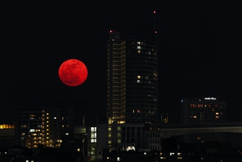 Super Red Moon