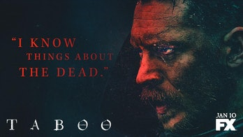 Tom Hardy in his new show Taboo