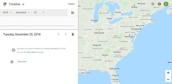 google location data