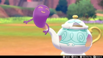 Polteageist pokemone sword and shield