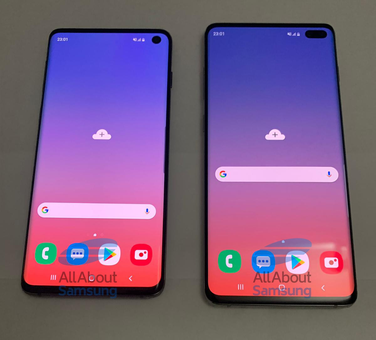samsung s10 and s10 plus leaks