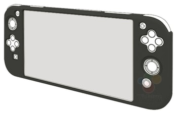 nintendo switch mini render