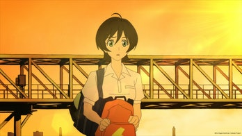Miki is Akira's love interest, but also sort of his neighbor-sister.