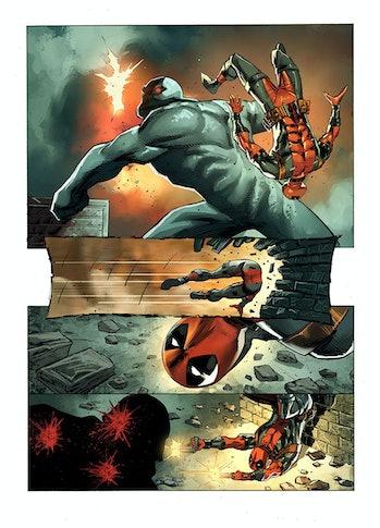 Deadpool Bad Blood Marvel