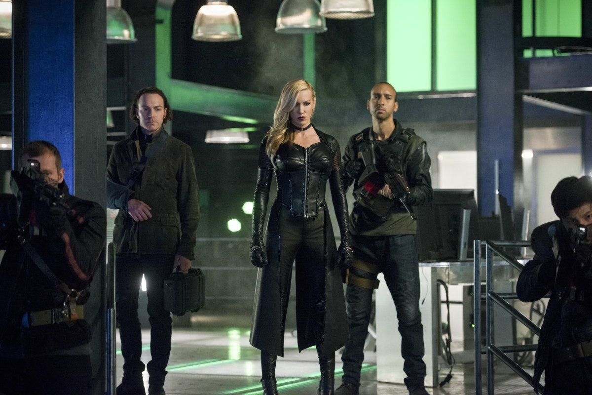 Arrow Season 6 Black Siren Katie Cassidy