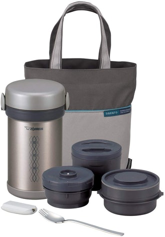 Zojirushi Ms. Bento Stainless Steel Vacuum Lunch Jars