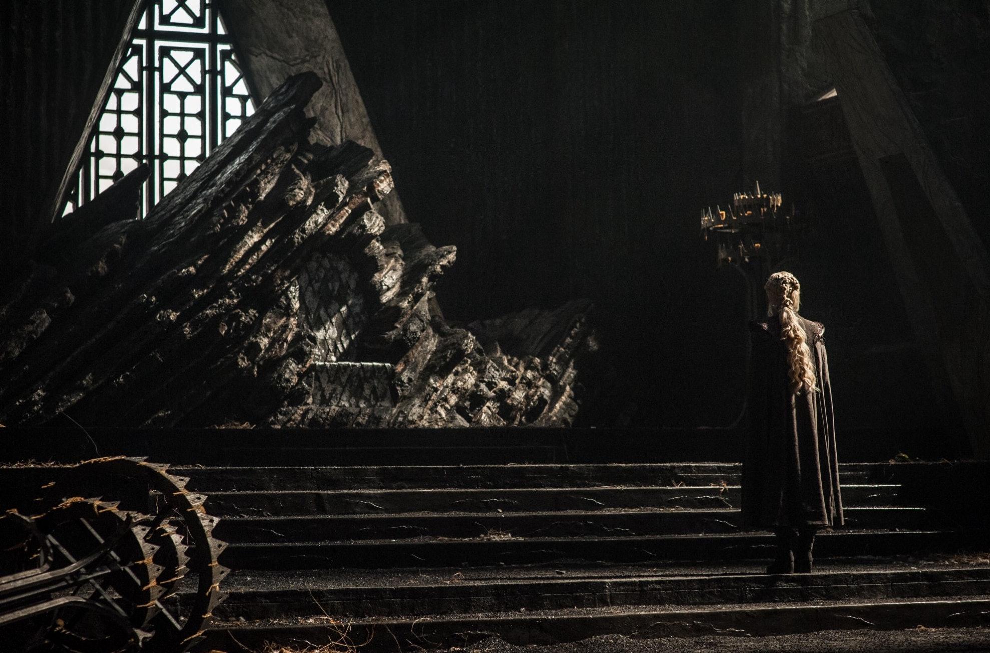 Emilia Clarke as Daenerys Targaryenin 'Game of Thrones' Season 7