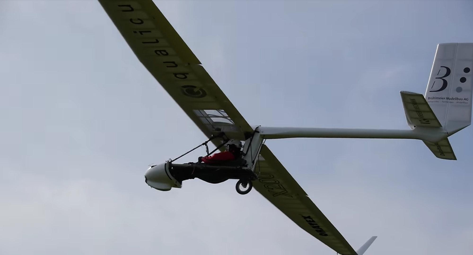 open archaeopteryx glider