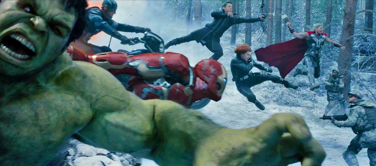Avengers Age of Ultron Opening