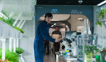The Space Between Us Asa Butterfield Mars Earth Mission