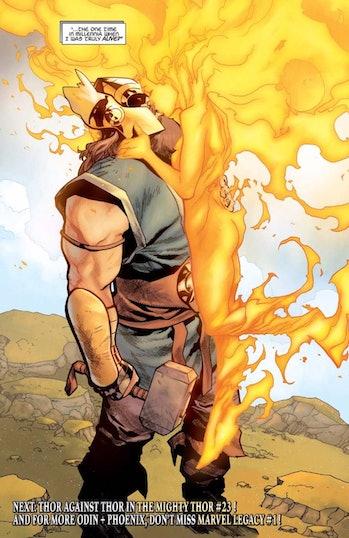 Thor Phoenix Marvel Legacy