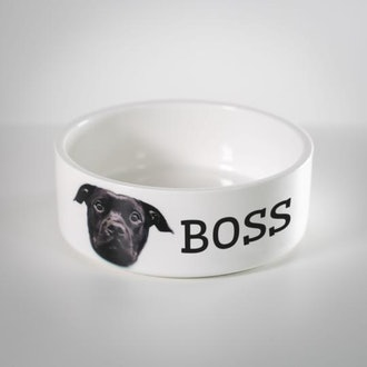 Lovimals Personalized Pet Bowl