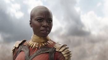 Danai Gurira as Okoyein 'Infinity War'