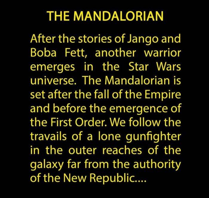 The Mandalorian Plot