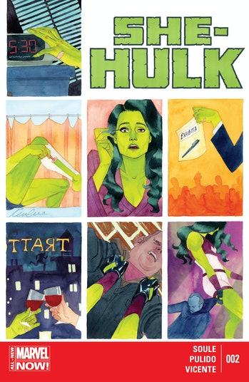 She-Hulk Issue 2 Cover