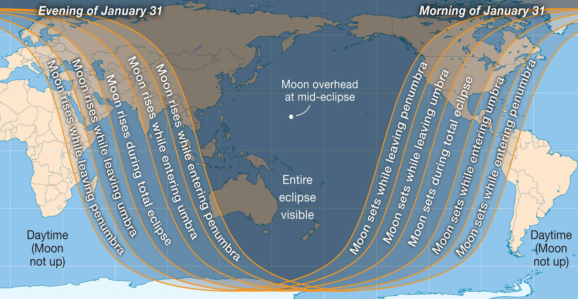 World map of Jan 2018 eclipse