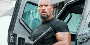 Dwayne Johnson in 'Fast & Furious 6'