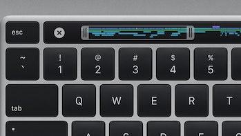 Apple MacBook Pro keyboard