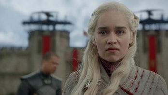 Emilia Clarke in 'Game of Thrones' Season 8, Episode 4 final scene Missandei's death