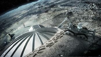 ESA space mining