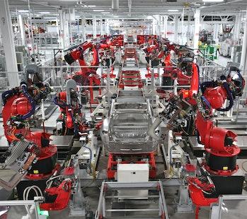 Tesla Robot Dance