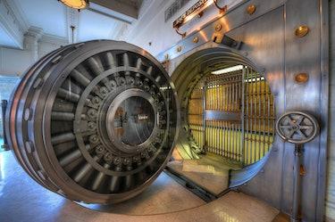 Vintage Bank Vault