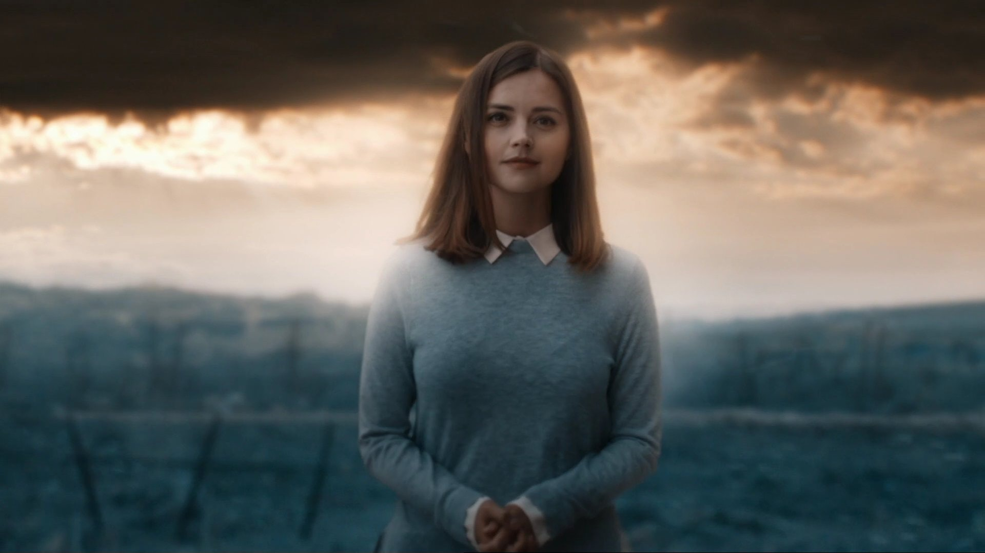 Clara appears as aglass avatar composed of her real memories.