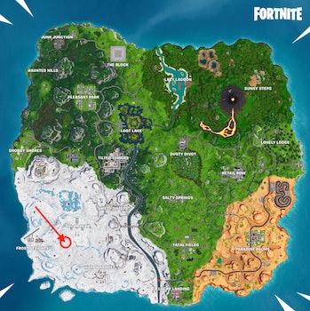 Fortnite Season 8 Week 3 Treasure Map Loading Screen