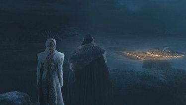 Game of Thrones Jon Dany Battle of Winterfell